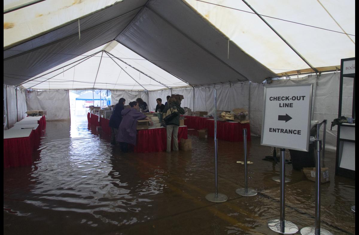 Book Signing rained out in Baton Rouge